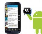 BlackBerry lanza servicio BBM para usuarios de iPhone y Android
