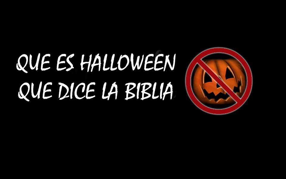 Yo no celebro Halloween QUE ES HALLOWEN